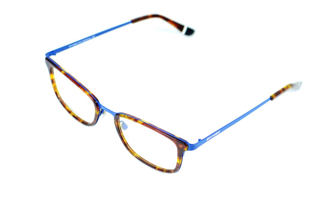 ERREBE GUATLERA 102-08 HAVANA AND BLUE ACETATO Y METAL HANDMADE L