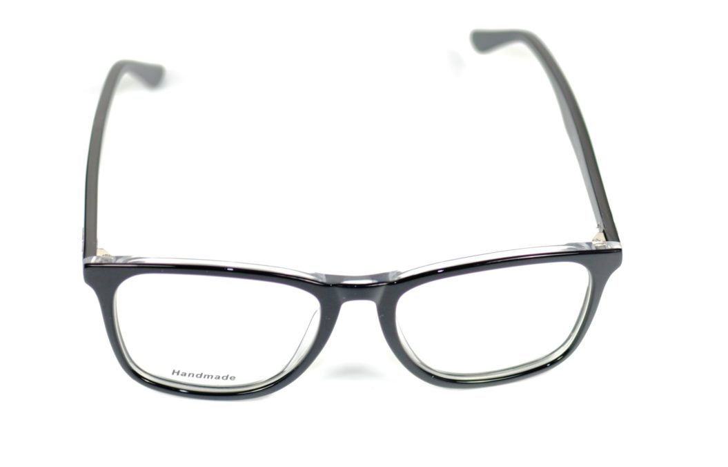 ERREBE XORIC 100 52-18-145 BLACK AND CHRYSTAL ACETATO HANDMADE F